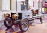 Spyker 60HP. Автомобиль впервые в мире был оснащен шестицилиндровым мотором, полным приводом и тормозами на всех колесах