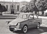 Выпуск легковых автомобилей на DAF стартовал в 1958 году с модели DAF-600