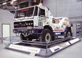 "Автомобиль для ралли-рейда ""Париж - Дакар"" – Turbo Twin II (4х4). Машина оснащена двумя моторами – спереди и сзади, по 495 л. с."