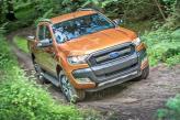 Решетка радиатора Ford Ranger состоит из трех широких балок