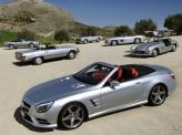 Вся линейка Mercedes-Benz SL