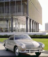Первый Volkswagen  Karmann-Ghia 1955 года