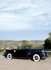 Бронированный Packard Twelve президента Мексики