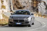 Maserati Ghibli привлекает широкой «пастью» решетки радиатора