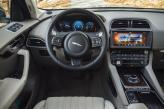 Круглый джойстик трансмиссии Jaguar выдвигается из центральной панели