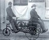 Фридрих Лутцман и его самодвижущаяся повозка