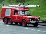 Трехосный пожарный Range Rover