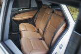Задние сиденья GLE Coupe  оснащены регулировкой угла наклона спинок