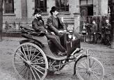 Первый запатентованный автомобиль, построенный Карлом Бенцом