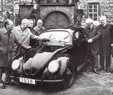 VW Beetle – один из первых автомобилей с обтекаемой формой кузова