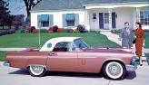 Ford Thunderbird – в 50-е автомобили выглядели так
