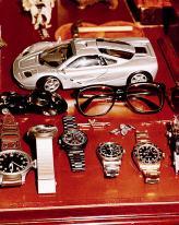 """Одно из увлечений дизайнера – коллекция наручных часов """"Rolex"""""""