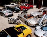 Фрагмент автомобильной коллекции Ральфа Лорена