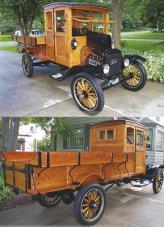 Ford TT (1920) с определенными оговорками можно считать первым серийным пикапом
