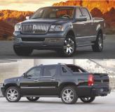 Пикапы класса люкс: Lincoln Mark LT, Cadillac Escalade EXT