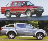 Ford Ranger и Mitsubishi L200 представители когорты компактных пикапов