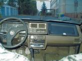 Салон автомобиля на то время выглядел достаточно прогрессивно