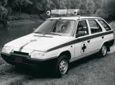 У себя на родине Skoda Forman нередко использовали в качестве автомобилей скорой помощи