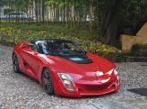 В основе Bertone Mantide лежит Chevrolet Corvette ZR1