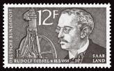 Немецкое общество не забывает о том, кем приходится ему Рудольф Дизель, увековечивая память о великом изобретателе даже на почтовых марках