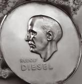 В 1953 году Немецкой ассоциацией изобретателей была учреждена Золотая медаль Рудольфа Дизеля, которая вручается за изобретения, которые внесли значительный вклад  в развитие экономики и предпринимательства