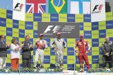 Подиум Гран-при Европы в Валенсии