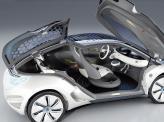 Двери Zoe Zero Emission Concept поднимаются вверх