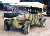 Армейский автомобиль-амфибия, построенный на базе Kdf-Wagen