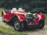 Первые Jaguar. Тогда они именовались SS