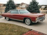Chevrolet Caprice 1972 года можно считать эталоном изящного полноразмерного американского автомобиля