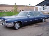 Лимузин Cadillac Fleetwood 1969 года – официальный лимузин королевского двора