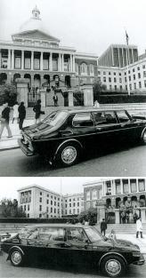 Saab 99 Royal 1976 года был построен для официального тура Карла XVI Густава по Америке