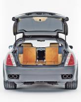 В багажнике можно перевозить грузы длиной до 1,8 м