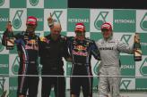 Подиум Гран-при Малайзии