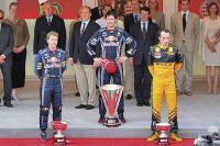 """Подиум Гран-при Монако: очередной дубль """"красных быков"""""""