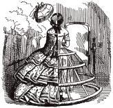 В 1820-х годах появляется кринолин – металлический каркас, поддерживающий расширенные юбки, и подобный писк моды приносил семейству Пежо значительную прибыль