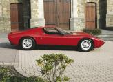 """Представленный на Женевском автосалоне 1966 года Lamborghini Miura поразил присутствующих совершенством форм и свирепым """"характером"""""""