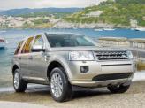 Передние фары и радиаторная решетка выполнены в стиле обновленных Discovery и Range Rover