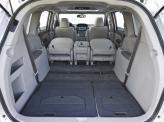 Объем багажника можно увеличить до внушительных 4205 л, сложив сиденья второго и третьего рядов