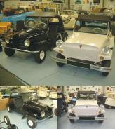 Справа King Midget Series II 1956-го года, слева King Midget Series III