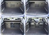 Объем багажника можно увеличить с 500 до 1550 л
