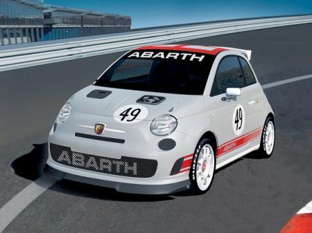 Fiat 500 Abarth Assetto Corse: маленький и проворный