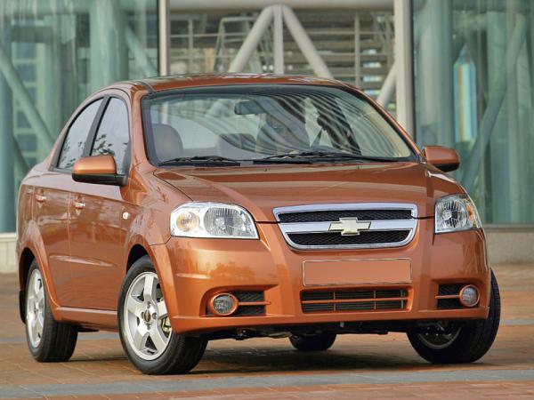 Chevrolet Aveo будут собирать в Запорожье