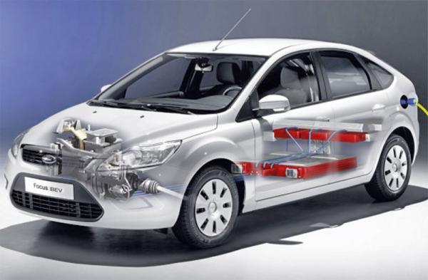 Ford Focus стал электрокаром