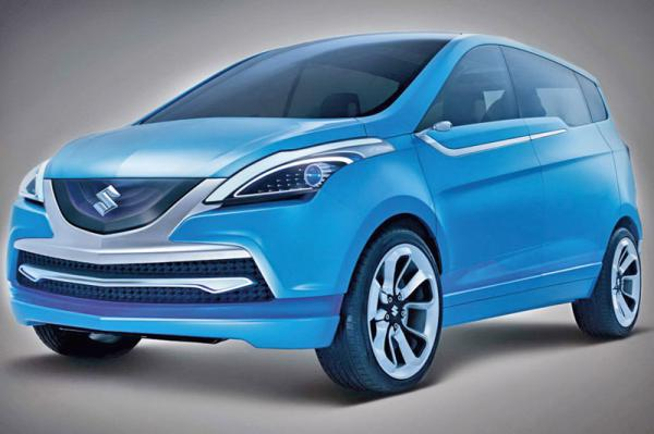 Suzuki планирует начать серийное производство шестиместного мини-вэна