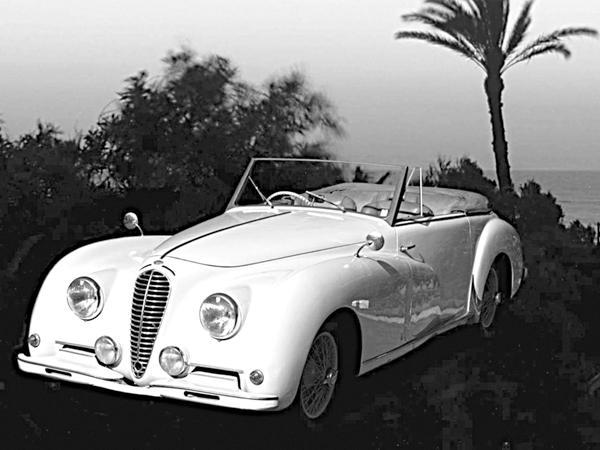 Delahaye 135: изящество и скорость в одном автомобиле