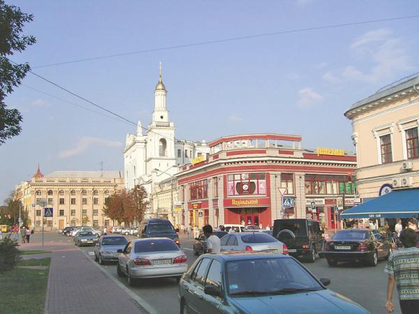 На улицах Киева вводят одностороннее движение