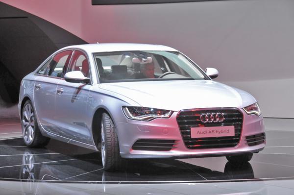 Детройтский автосалон - 2011: Audi A6 Hybrid