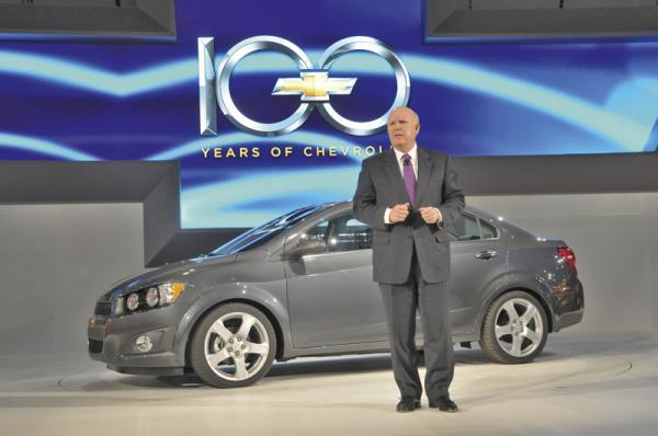 Детройтский автосалон - 2011: Chevrolet Sonic
