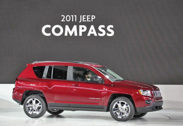Детройтский автосалон - 2011: Jeep Compass